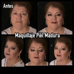 Maquillaje para PIEL MADURA 2 (50 a 60 Años) Hecho con Angelissima