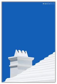 Blue Sky and White Roof