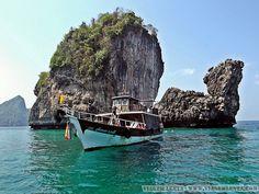 Dias 87 a 90 da viagem: Krabi, Au Nang e Koh Phi Phi, Tailândia - Viagem Lenta Krabi, Rio, Littoral Zone, City, Pictures