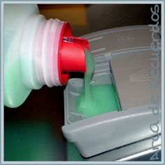 Detergente casero para el lavavajillas.