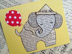 Free Printable Baby Shower Gift Tags- two cute designs, one in pink and one in blue- a mother elephant and her little one.