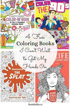 Hobbies that are both relaxing and creative are my favorite! It's good for me to have an imaginative interest that is essentially stress-free. I also like making the world more colorful and putting my own special flair into as much as possible! I've always liked coloring books that allow me to explore my favorite subjects and interests. Here are four coloring books I can't wait to get my hands on! || 4 Fun Coloring Books I Can't Wait to Get My Hands On || BumbleBits.co