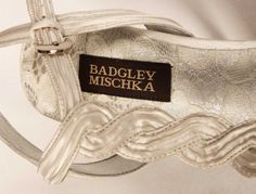 Badgley Mischka Dahlia White Bridal Shoes