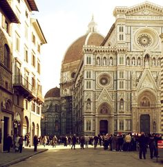 Florence Duomo (my favorite building in Firenze <3)