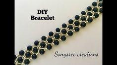 Gorgeous Beaded Bracelet ( One Needle Method) 💦