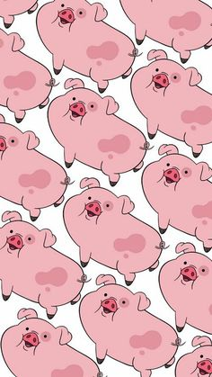 Pato Pig Wallpaper, Cartoon Wallpaper Iphone, Disney Phone Wallpaper, Homescreen Wallpaper, Iphone Background Wallpaper, Apple Wallpaper, Kawaii Wallpaper, Cute Cartoon Wallpapers, Pretty Wallpapers