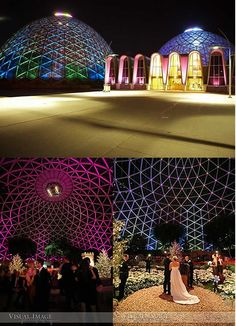 Mitchel Park Conservatory (the domes) Botanical Gardens, Milwaukee Wisconsin