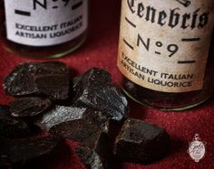 0,4 oz of pure Italian artisan liquorice - Conclave Tenebris number 9 Natural aphrodisiac Sicily liquorice with a very intense taste. Pure extract of liquorice stem, sun dried and reduced to small pieces without the addition of dyes or other chemicals. In addition to the incredible taste the licorice extract has beneficial effects on blood circulation and is a great aphrodisiac! https://www.etsy.com/listing/127859603/italian-artisan-liquorice-04-oz-gothic