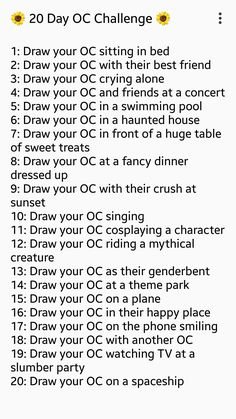 art challenge for beginners ; Art Style Challenge, 30 Day Drawing Challenge, Oc Challenge, Thigh Challenge, Challenge Ideas, Drawing Ideas List, Drawing Reference Poses, Drawing Tips, Oc Drawing Prompts