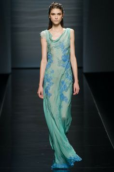 I'm pretty sure Ariel had a hand in this collection. The mermaid did well. (Alberta Ferretti Spring 2013)