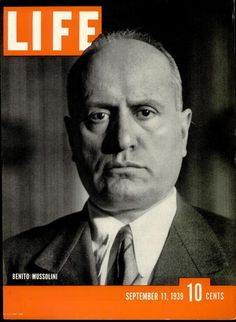 Life Cover - Benito Mussolini