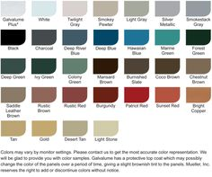 Best Cf Panel Mueller Inc Metal Roof Metal Pewter Metal 640 x 480