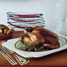 It's Technique Week at Food & Wine and today we're talking all things roast chicken, from the perfect sides to the best sauces to the roasting method. Every chef has a...