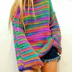 62 Trendy Ideas For Crochet Poncho Boho Ideas Crochet Bolero, Crochet Jumper, Crochet Diy, Crochet Jacket, Crochet Cardigan, Beautiful Crochet, Crochet Clothes, Pulls, Knitwear