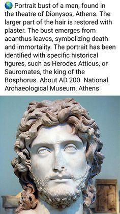 My Legacy, Acanthus, Archaeology, Greece, Restoration, Statue, Portrait, Greece Country, Men Portrait