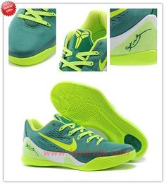 How To Get Cheap Mens 653972-621 Nike Kobe 9 Low EM Green \u0026quot;Green
