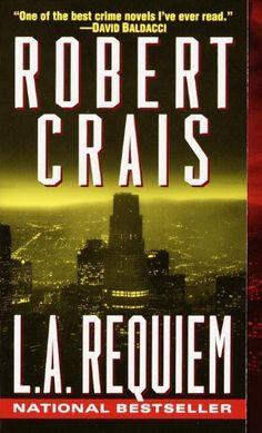L.A. Requiem (Elvis Cole Novels) by Robert Crais, http://www.amazon.com/dp/B002IPZBTU/ref=cm_sw_r_pi_dp_xK93qb10418E8