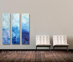 Frozen Industrial Painting / CUSTOM  Art / 3 by TwistOfUnique