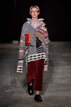Damir Doma Fall 2018 Ready-to-Wear Collection - Vogue