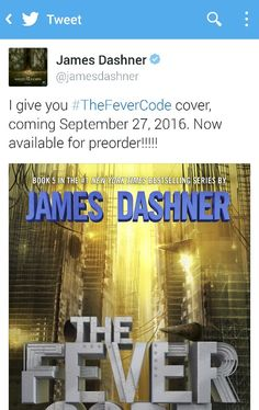 The Fever Code!! IT'S HAPPENING. WE HAVE A RELEASE DATE. OMG<<< AND GUYS. WE CAN PREORDER IT OMG OMG OMG OMG OMG OMG OMG OMG OMGOMGOMGOMG OMGOMG OMGOMGOMGOMGIMGOMG OAOS IDNBEJDOSOXCJNCNFJDKSOSODKXKCIJDJEJEIWOWKEDJCJCJNDNEKEKSKCKCJDNJWJWKSKDJCJXJNDNEJWKSJCJCNDJSKSKCICJDJKS