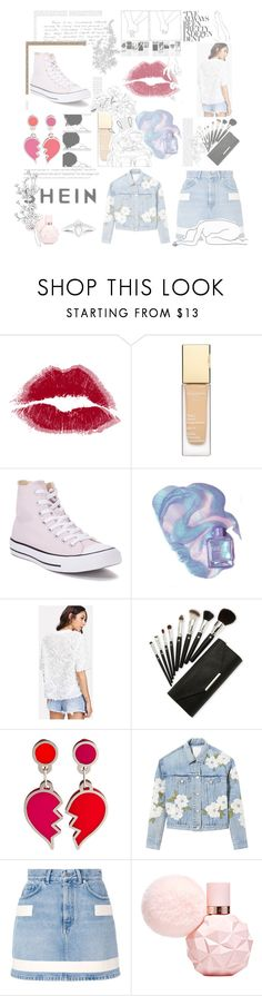 """""""2.26.18"""" by roseforbes ❤ liked on Polyvore featuring Converse, Rebecca Taylor, Givenchy, Mon Cheri, Oris and Old Navy"""
