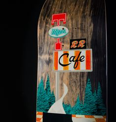"""Habitat Skateboards serves up a damn good collection of skateboards, apparel and accessories with the official """"Twin Peaks Collection"""". Under license by CBS Consumer Products and Twin Peaks Productions, Habitat presents products featuring the iconic visuals and characters that celebrate the return of the award-winning television series,TWIN PEAKS on SHOWTIME®."""