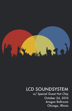 lcd soundsystem poster