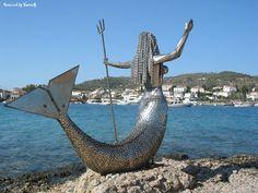 The mermaid of Spetsis.