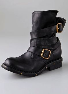 Brit wrap strap boots by Jeffrey Campbell, and you can get them with fur lining, too.  ::sigh::