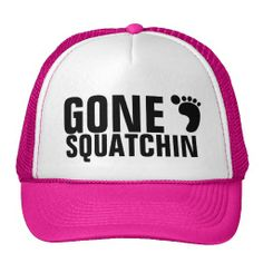 Unisex Gone Squatchin Bigfoot Funny Beanie Cap Ski Hat Head Wear Fashion For Outdoor /& Home