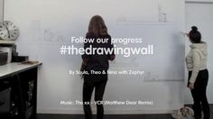http://ooi.com.au/the-drawing-wall/ What is The Drawing Wall?  An excuse to get up off our seats, takes us away from our screens, keeps us in touch with drawing and the pencil, away to remain inspired in our studio, a creative project, a great way to use our blank studio wall, keeps us thinking, provides a great working environment, lots of fun.