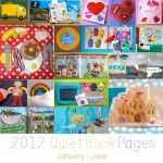Quiet Book Pages - patterns, tutorials ... I'm already working on the sandcastle page.