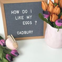"""Spree on Instagram: """"Obviously 🌷 We have started to decorate for Easter here at Spree 🐰 We are open until 5pm today #saturdayshopping #letterboardquotes…"""" Quotes Risk, Sign Quotes, Peace Quotes, Food Quotes, Happiness Quotes, Word Board, Quote Board, Message Board, Felt Letter Board"""