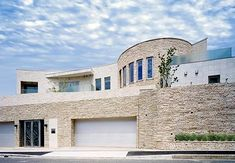 My Home Design, Home Design Decor, Life Design, Modern House Design, Modern Architecture House, Architecture Design, Mega Mansions, Garage House, House Rooms