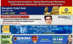 Een online advertentie-uiting waar een bezoeker vaak op kan klikken en door wordt verwezen naar de website van de adverteerder.