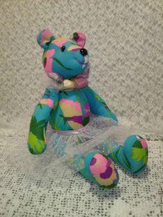 Купить Медведь текстильный - медведь, медвежонок, подарок, подарок на любой случай, текстильная игрушка, комбинированный