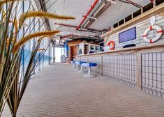 Google Office in Tel Aviv by Camenzind Evolution #design #office #environmental #interior #interiordesign #architecture