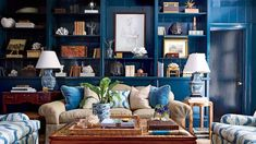 classic blue and white charm