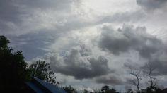 Smokey Cloud And Shiny Sky