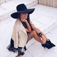 Black hat, relaxed look #WITCHERYSTYLE