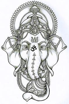 ganesha in lotus - Google Search