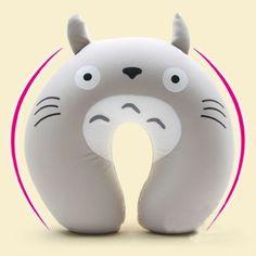 Mostyle Oreiller tour de cou Totoro en forme de U Rembourrage billes de polystyrène: Amazon.fr: Cuisine & Maison