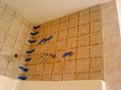 Bathroom Wall Decor Above Towel Rack