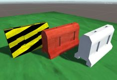 Package contains:  1x Traffic Barrier .FBX. 3x Textures - Hazards, Red and White. 3x Prefabs ready to drag and drop into your projects.  Prefabs are set up as:  1x Red Traffic Barrier 1x Hazard Striped Traffic Barrier 1x White Traffic Barrier  These are typically found on any construction site or Urban roadways.