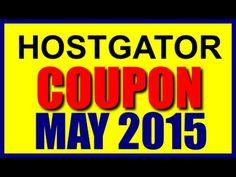 Hostgator Coupon Code May 2015 New hostgator web hosting coupons for may 2015  https://www.youtube.com/channel/UCDg-CFhpbLbcgDECLDXQGYA https://youtu.be/ETwoY4M4Zi8 https://www.youtube.com/watch?v=ETwoY4M4Zi8