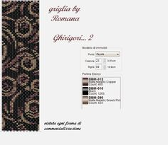 http://baglioridibijoux.blogspot.it/search/label/Griglie/pattern peyote
