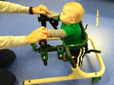 Noah Goes For A Walk On The Porsche Of Walkers: The Gait Trainer