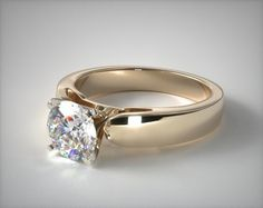 A gemstone solitaire may be the essential diamond engagement ring. Although other diamond engagement ring settings fall and rise in recognition, a solitaire ring is really a classic with constant, … Engagement Rings Cushion, Engagement Rings Round, Engagement Ring Styles, Designer Engagement Rings, Wedding Engagement, Harry Winston Engagement Rings, Wedding Rings Solitaire, Gold Wedding Rings, Solitaire Setting