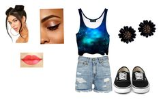 """""""Galaxy"""" by auriana-arista-van-loon on Polyvore featuring mode en R13"""