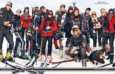hilfiger christmas photo | ... Spend Christmas on the Slopes for Tommy Hilfiger Holiday 2012 Campaign